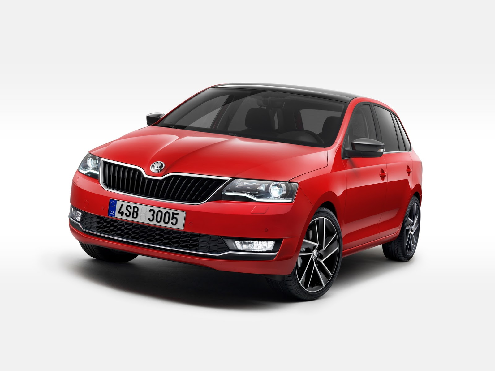 skoda launches 2017 rapid rapid spaceback with new videos and photos autoevolution. Black Bedroom Furniture Sets. Home Design Ideas