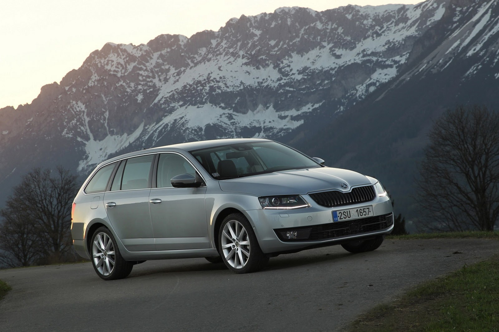skoda octavia combi 4x4 revealed in new images autoevolution. Black Bedroom Furniture Sets. Home Design Ideas