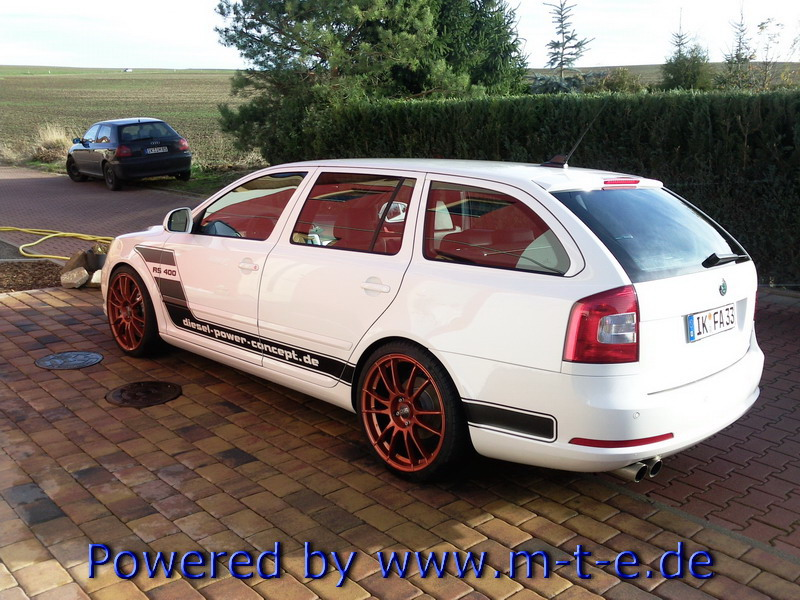skoda octavia combi rs gets 451 hp autoevolution. Black Bedroom Furniture Sets. Home Design Ideas
