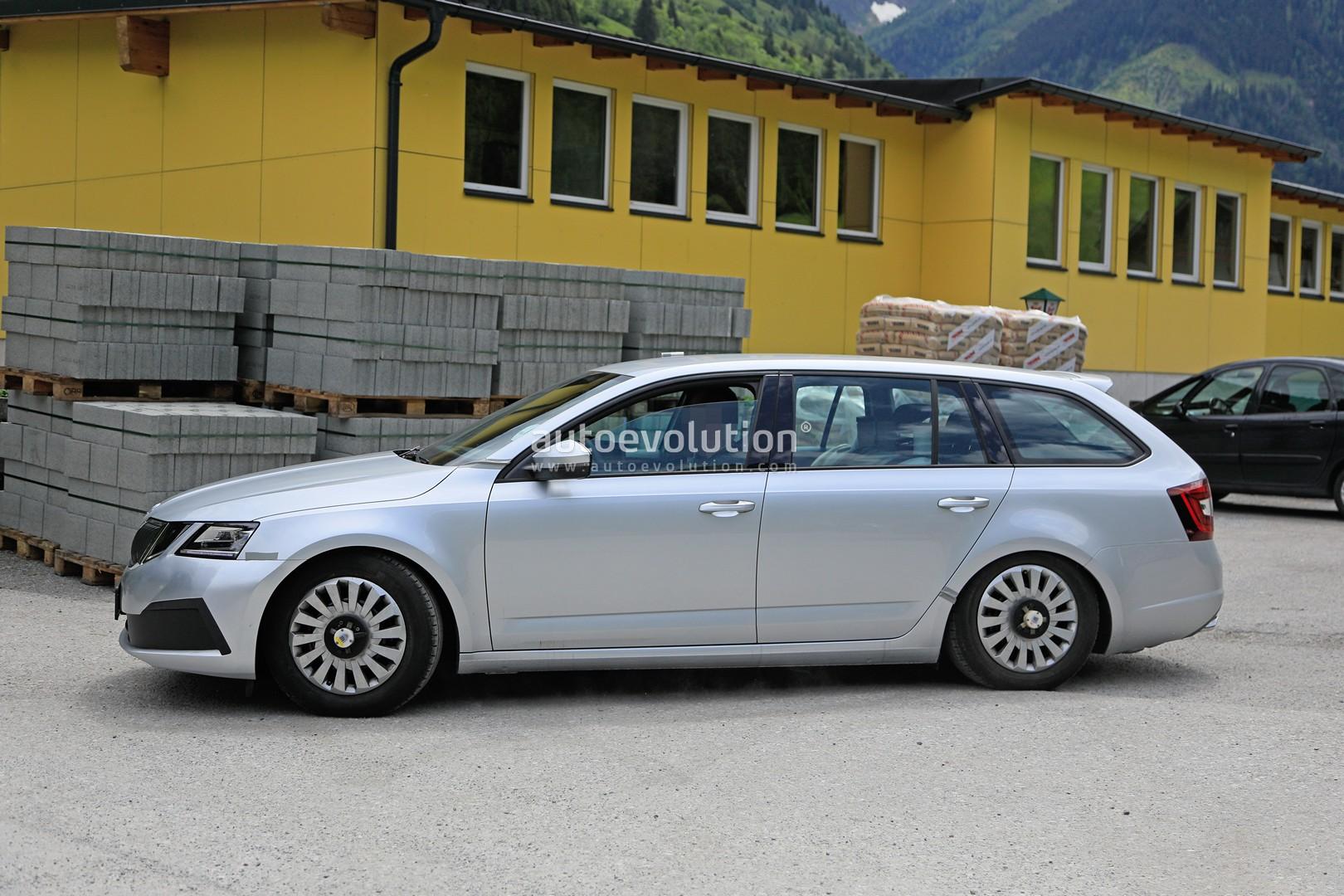 Škoda Octavia IV (2020) zachytená pri testoch