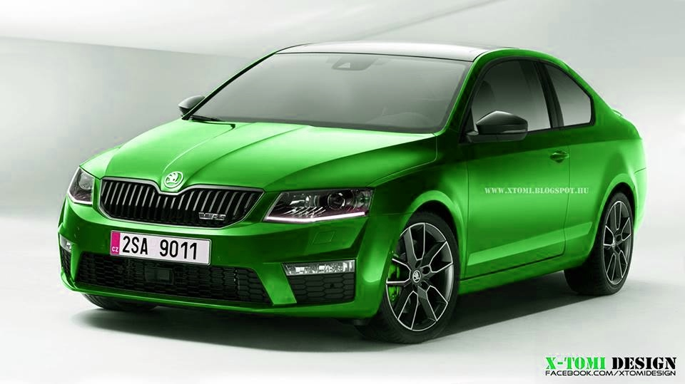Skoda octavia rs iii rendered as a coupe autoevolution