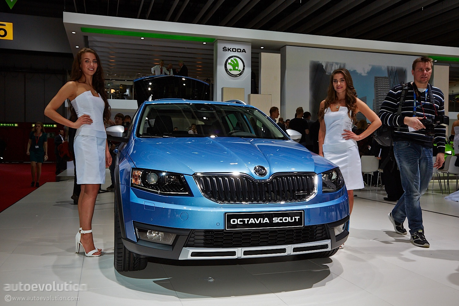 skoda octavia scout is an estate built for adventures at