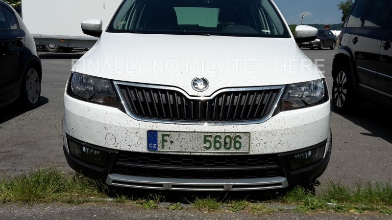 skoda rapid scout seen for the first time should debut at. Black Bedroom Furniture Sets. Home Design Ideas