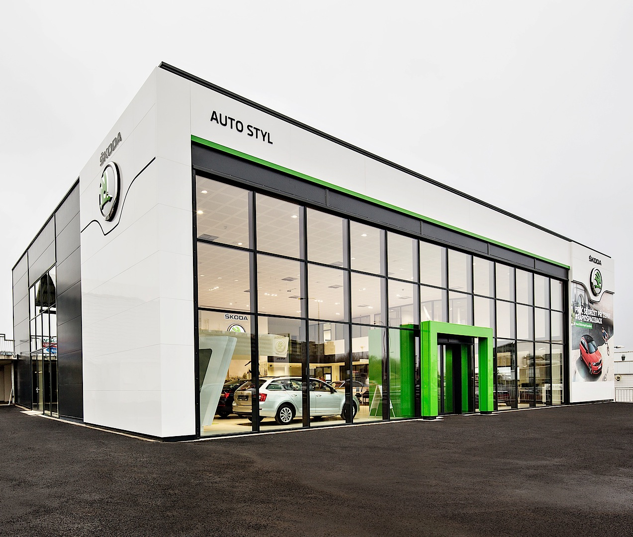 Oregon Car Showrooms Dealerships: Skoda Reveals New Dealer Showroom Design