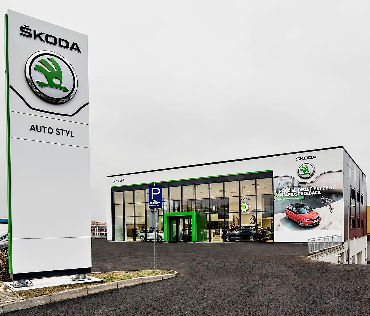 Skoda Reveals New Dealer Showroom Design