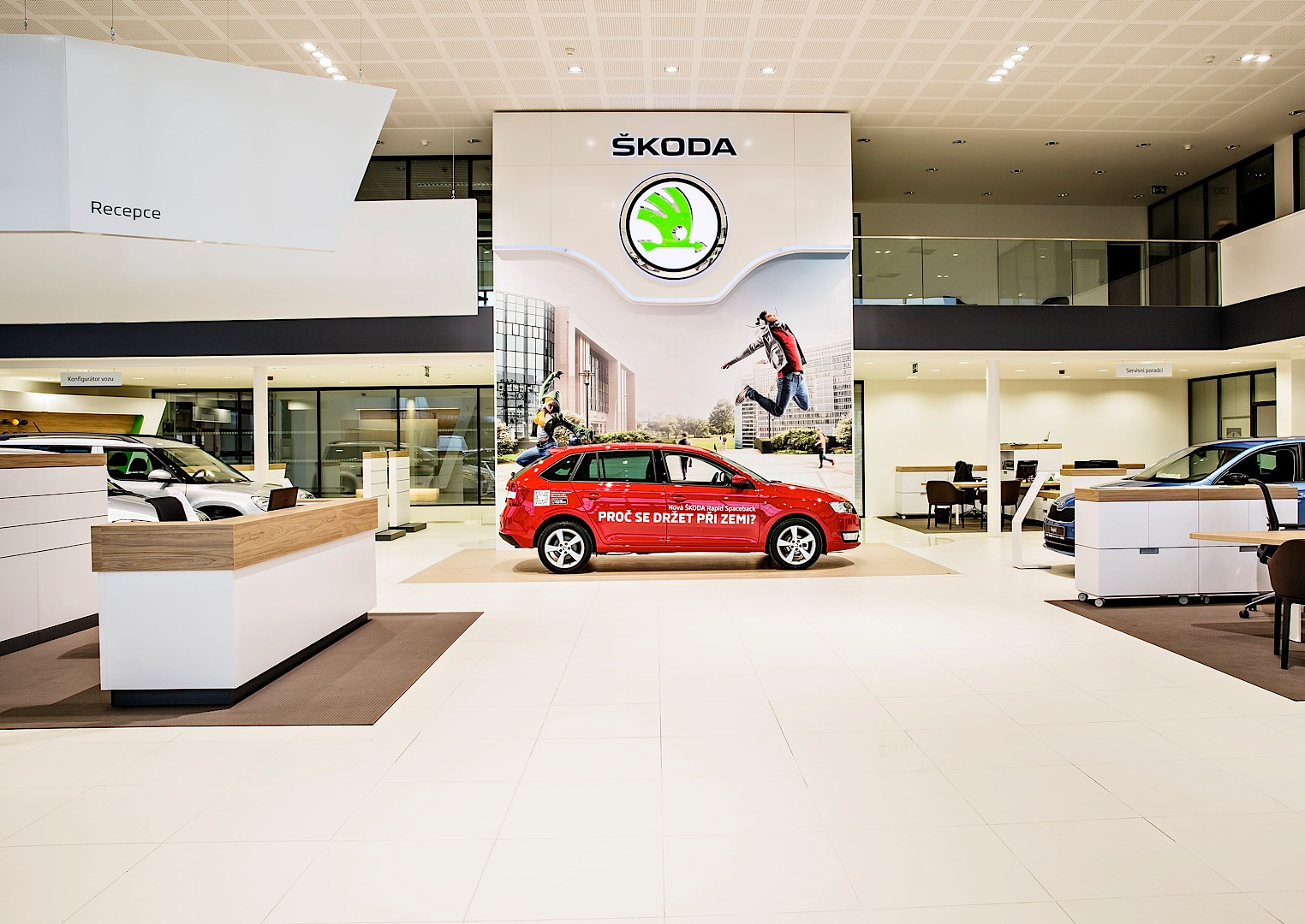 Skoda Reveals New Dealer Showroom Design - autoevolution