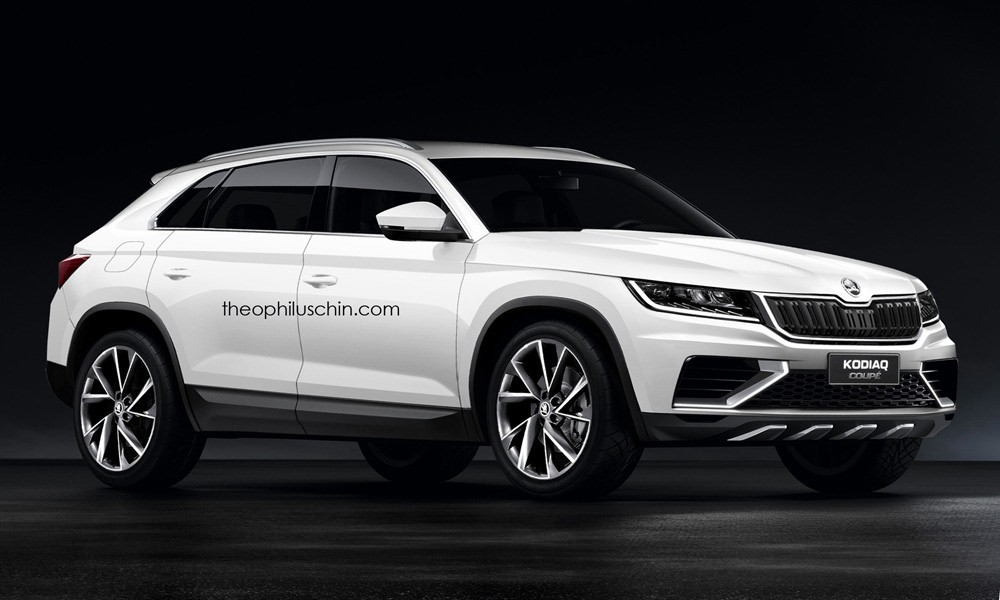Skoda S Once Unlikely Suv Coupe Is Real And It Might Look Like