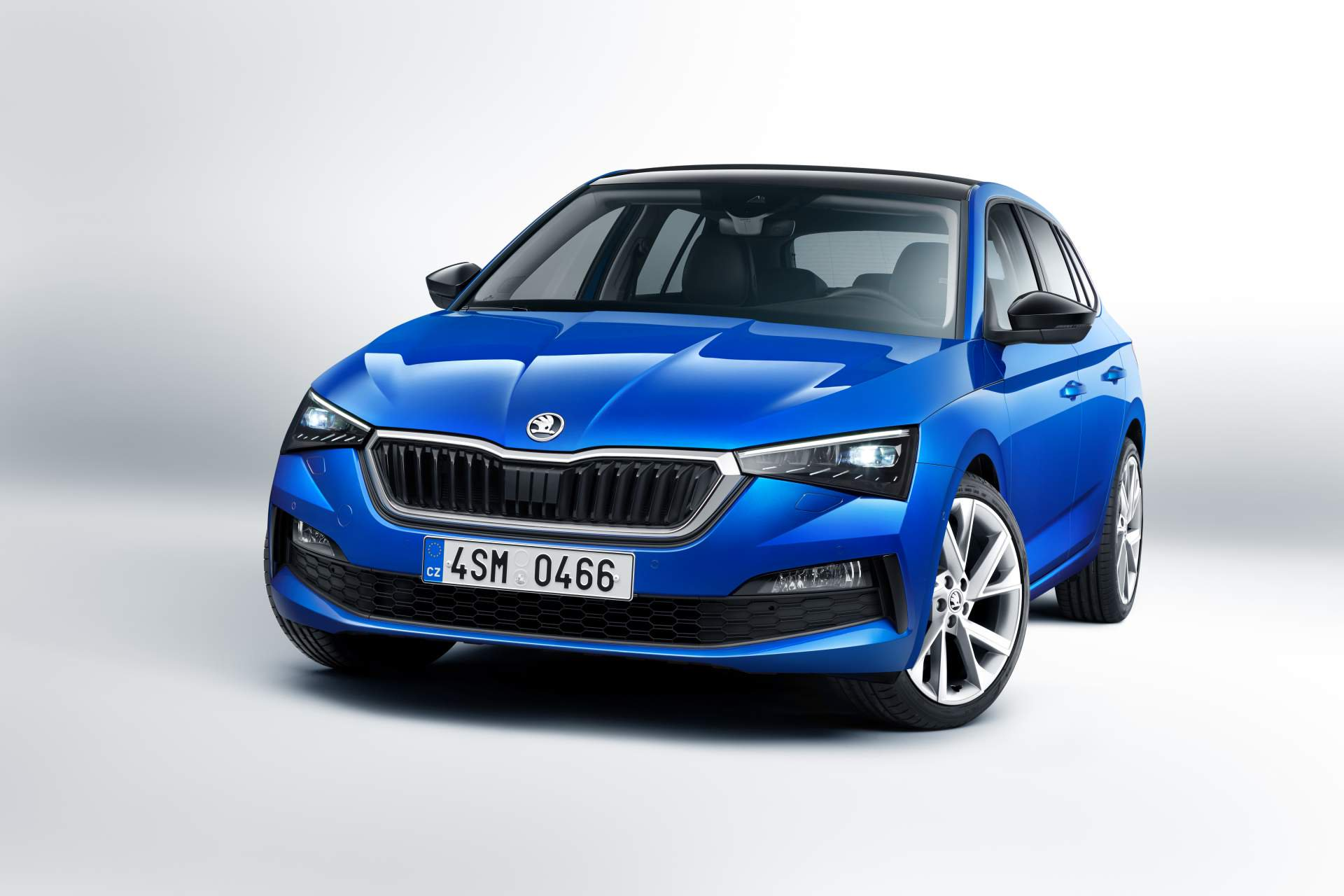Headlights For Cars >> Skoda Scala Unveiled as Bold Understatement With Modern Compact Car Tech - autoevolution
