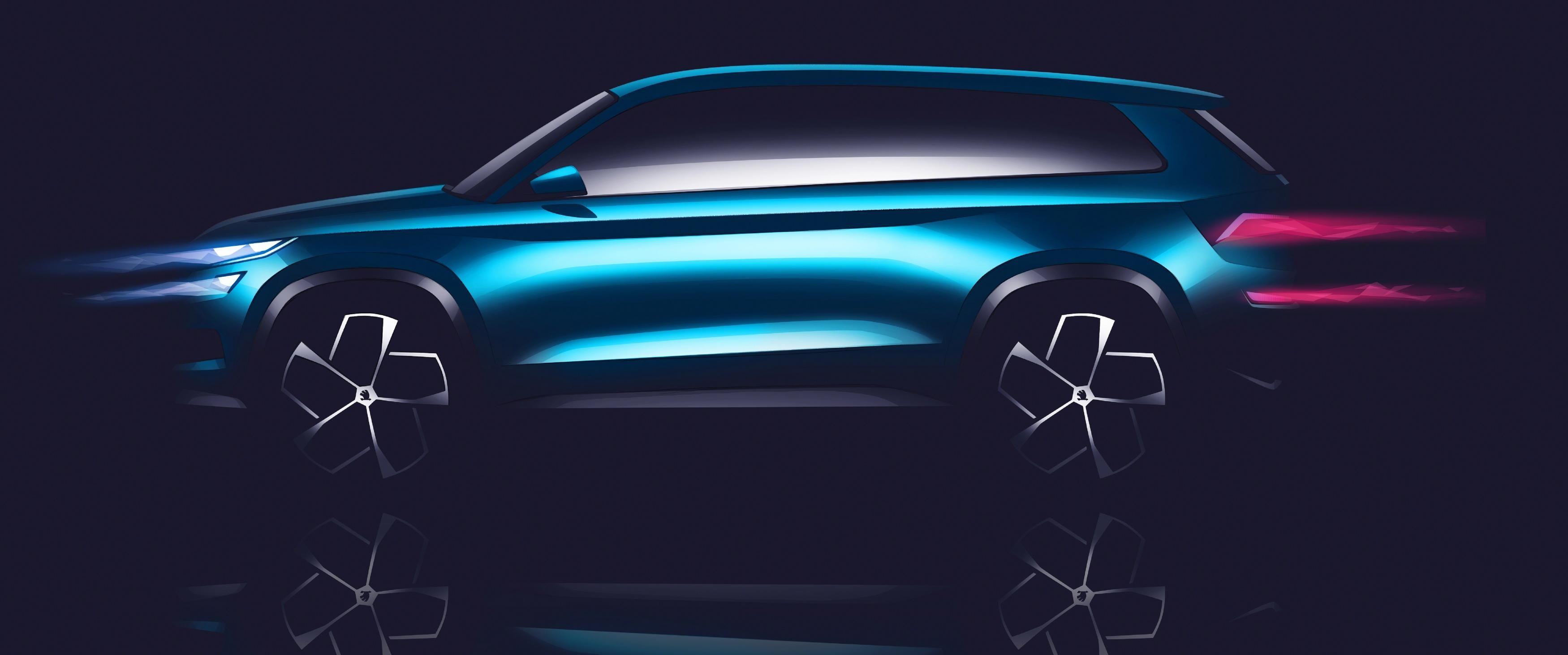 Skoda Unveils VisionS Design Study, Its First Hint at Upcoming SUV ...