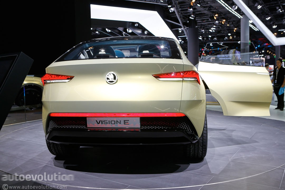 Skoda Vision E Is Vw Id Crozz Iis Brother From Another Mother