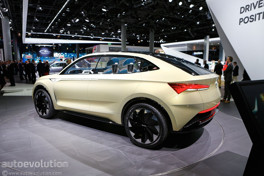 skoda vision e is vw i d crozz ii 39 s brother from another mother autoevolution. Black Bedroom Furniture Sets. Home Design Ideas