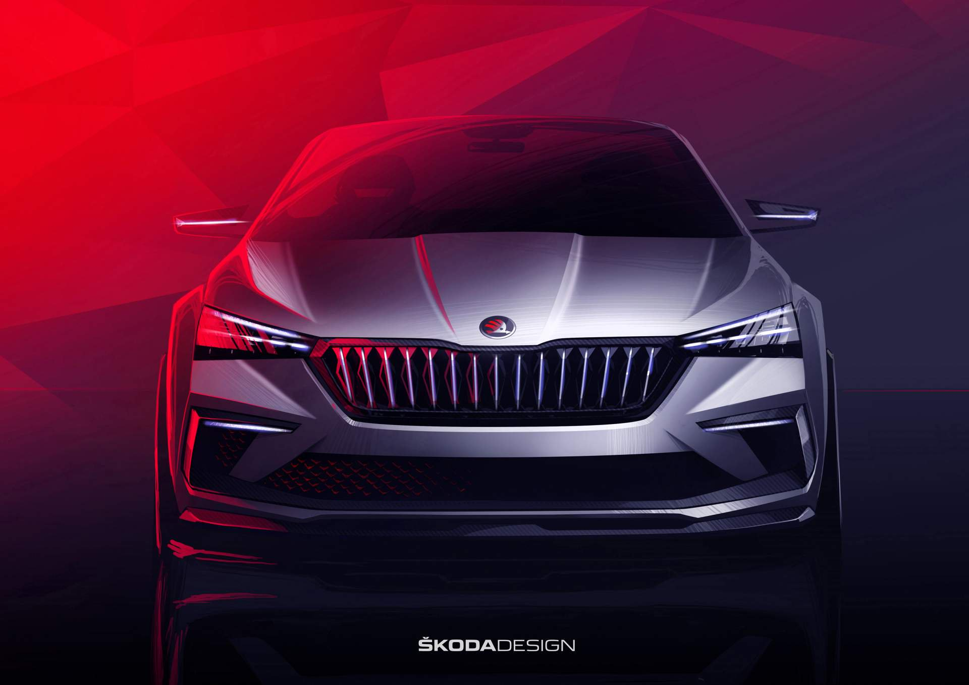 Skoda vision rs production version to be shown this year for Garage skoda paris 12