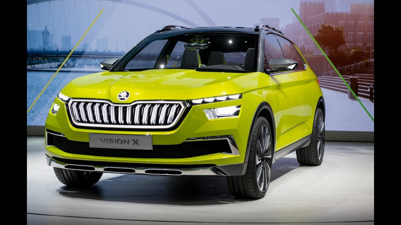 skoda vision x concept revealed runs on natural gas and electricity autoevolution. Black Bedroom Furniture Sets. Home Design Ideas