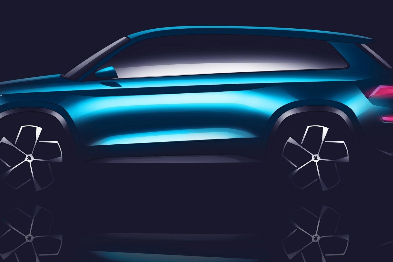 "2019 7 Seater Suv >> Skoda VisionS Concept Previews 7-Seater ""Kodiak"" SUV at Geneva 2016 - autoevolution"