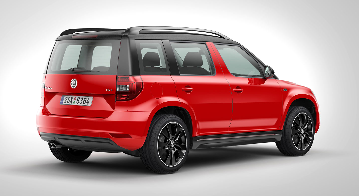skoda yeti monte carlo available with 1 2 tsi and 110 hp 2. Black Bedroom Furniture Sets. Home Design Ideas