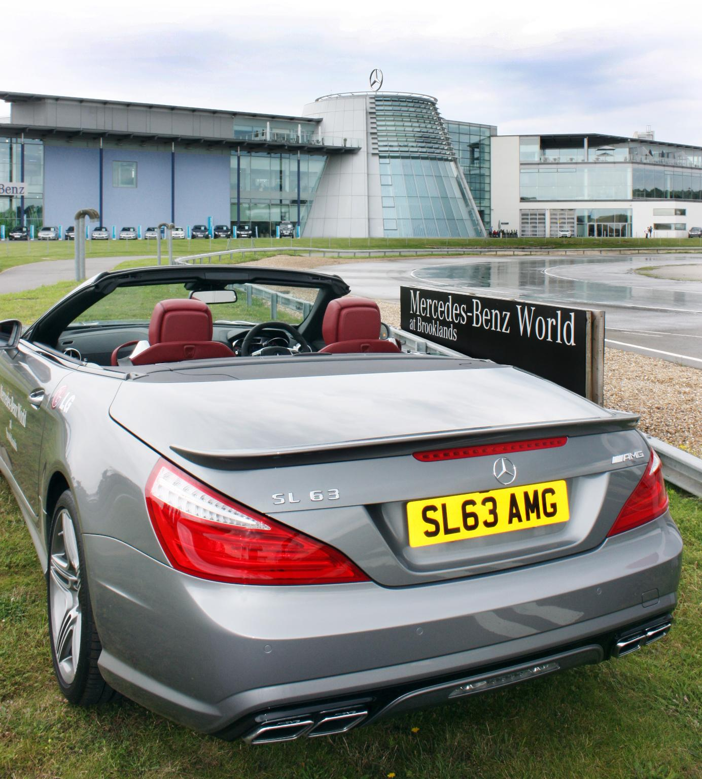 Sl 63 amg vanity plate for mercedes benz in the uk for Mercedes benz vanity license plates