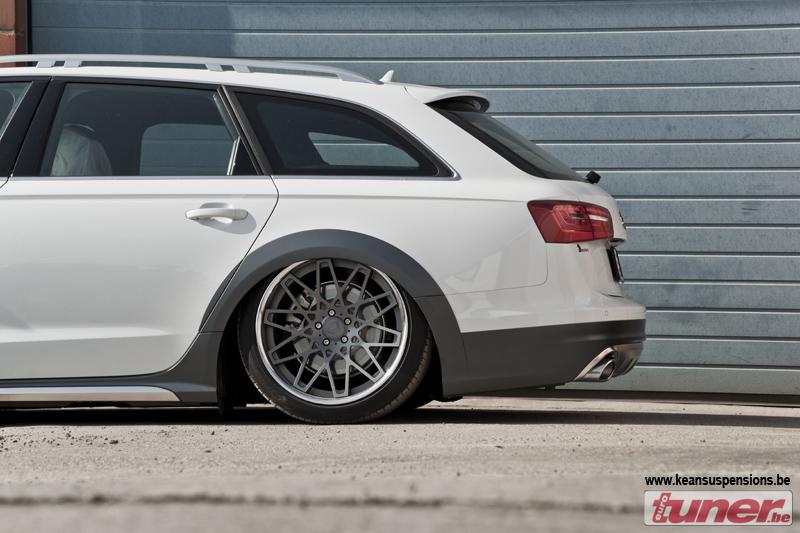 Slammed Audi A6 Allroad Looks Funny Autoevolution