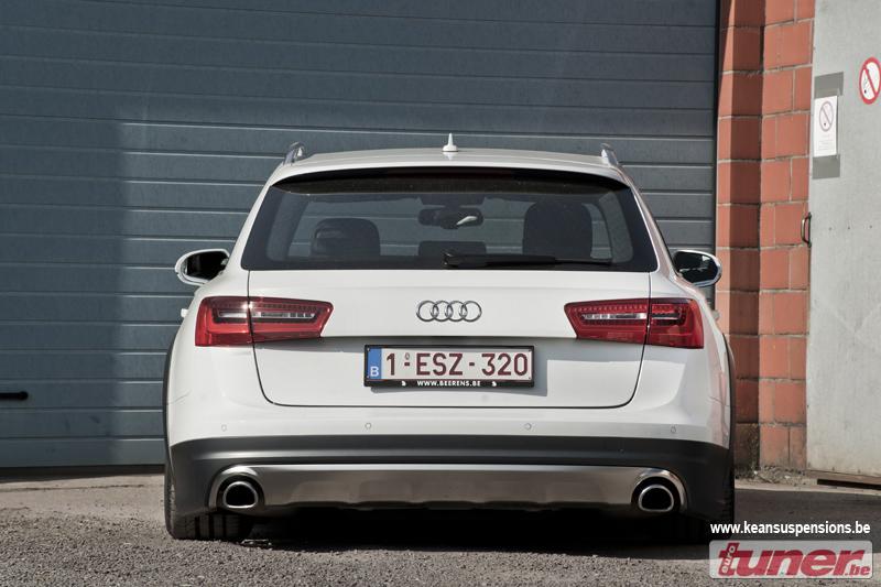 Slammed Audi A6 Allroad Looks Funny - autoevolution