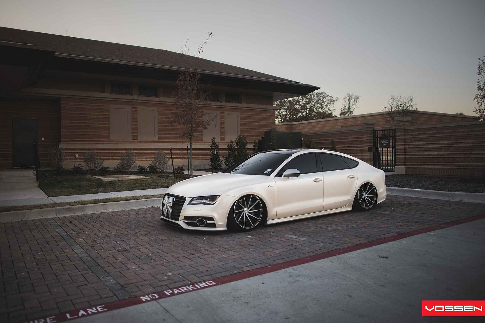 New Bmw 7 Series >> Slammed Audi A7 Looks Sharp on Vossen Directional Wheels - autoevolution