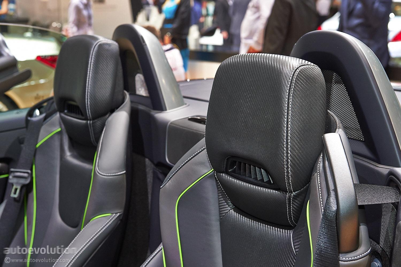 Slk Carbonlook Edition Fibers Up Geneva Autoevolution