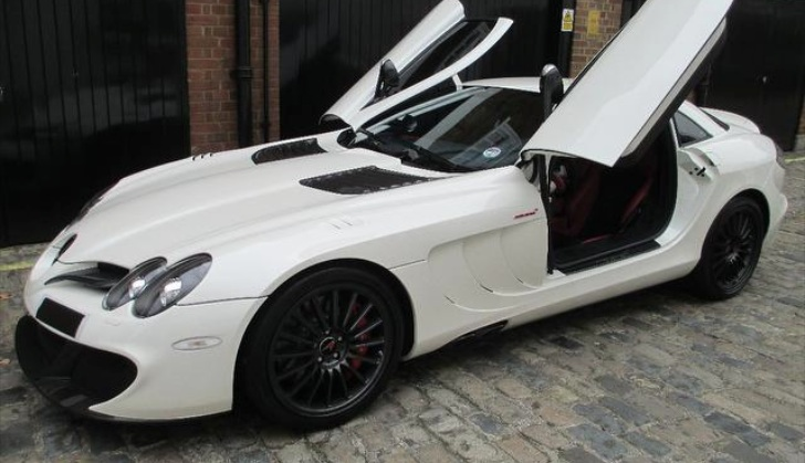 slr mclaren edition chassis 003 is for sale autoevolution