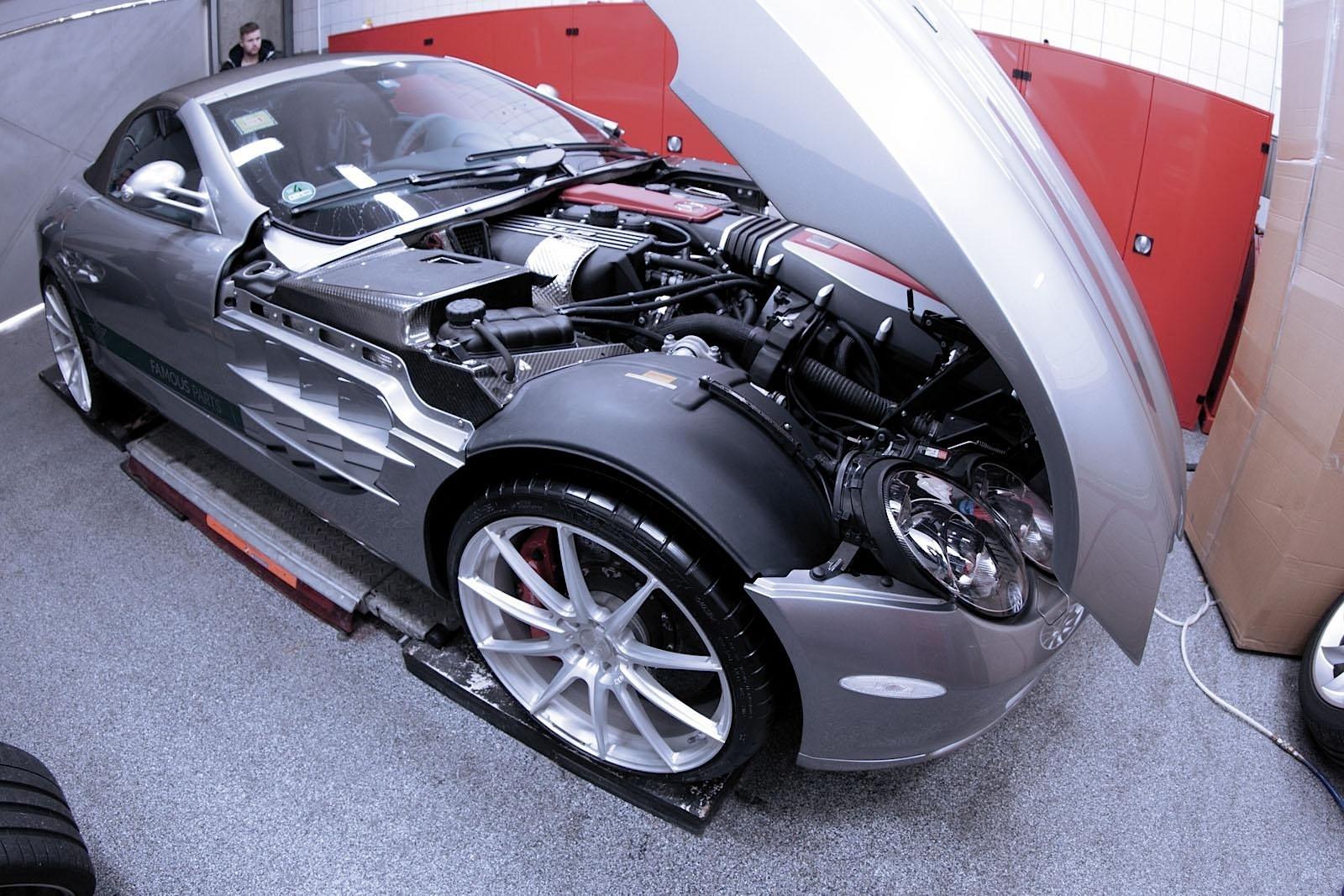 Renntech presents 777 slr mclaren supercar autoevolution for Car parts for mercedes benz