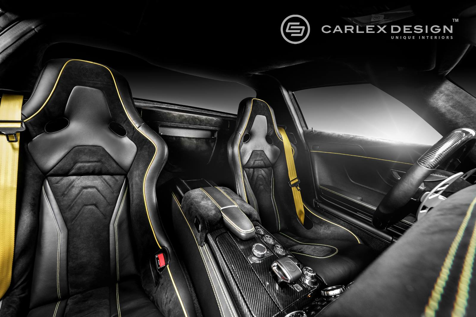 mercedes benz sls amg black series by carlex design