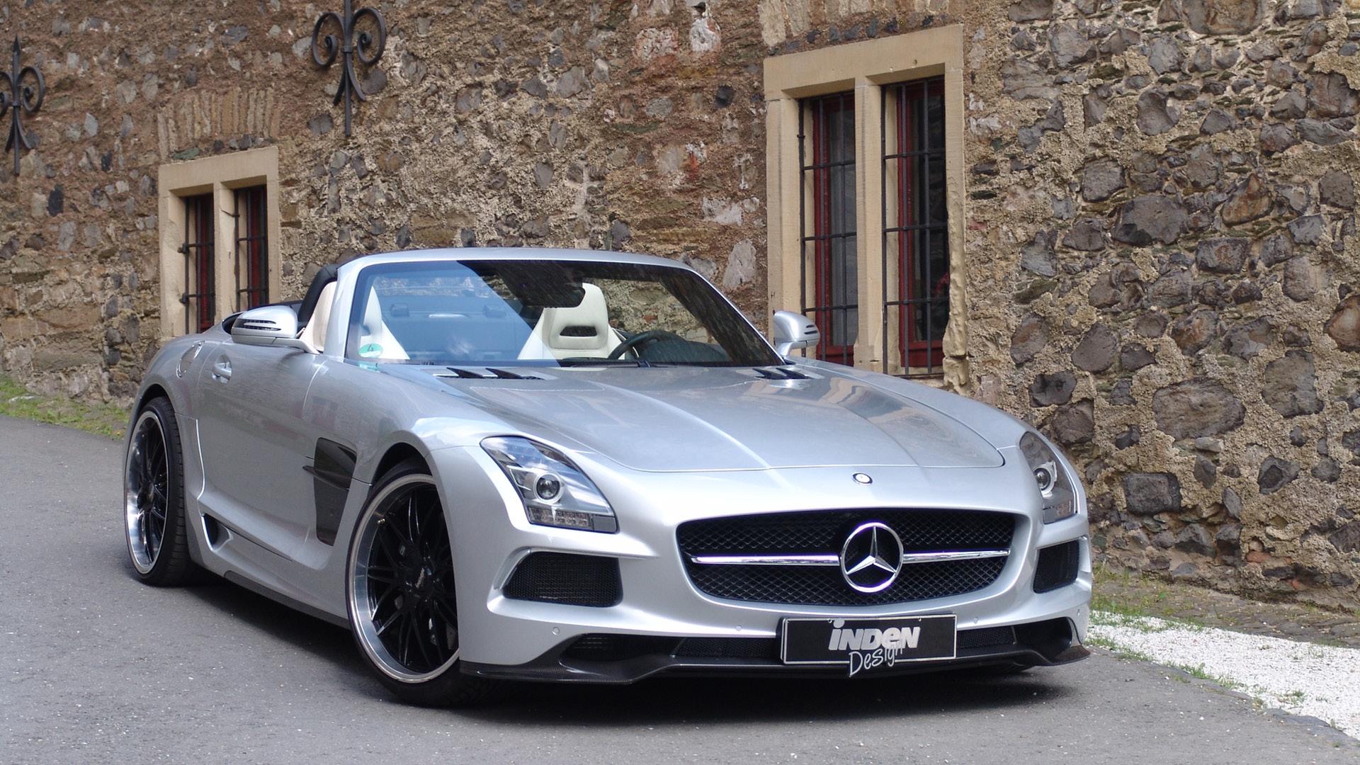Sls amg black series roadster by binz 39 s inden design for Mercedes benz roadster amg
