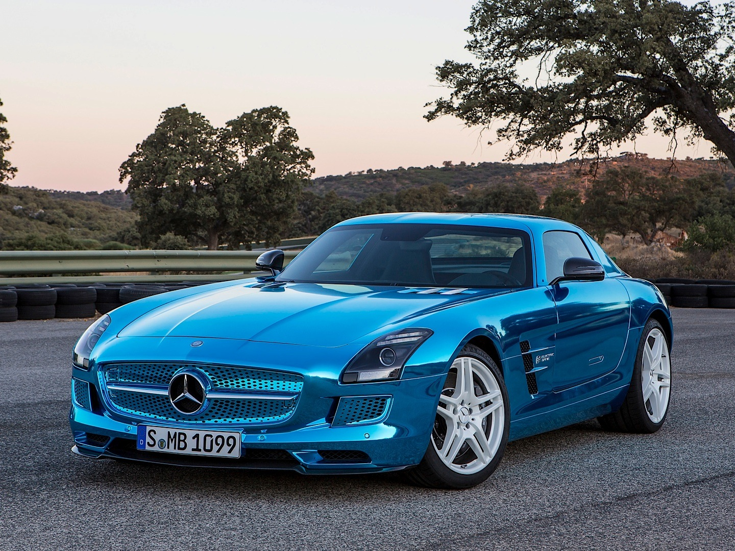 Sls amg electric drive and b class f cell win ecar awards for Win a mercedes benz