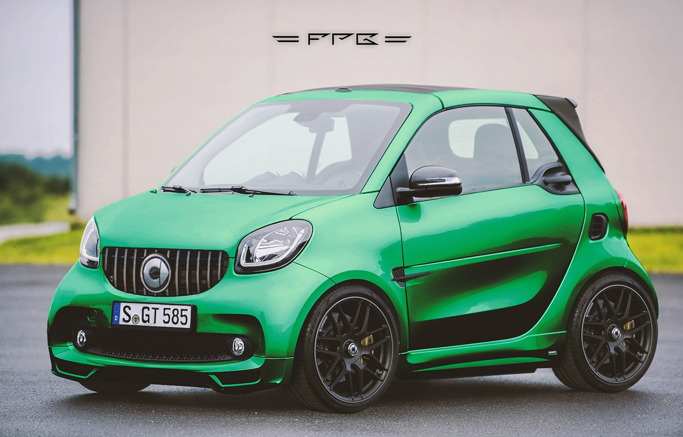 smart fortwo brabus gets the virtual oem tuning treatment. Black Bedroom Furniture Sets. Home Design Ideas