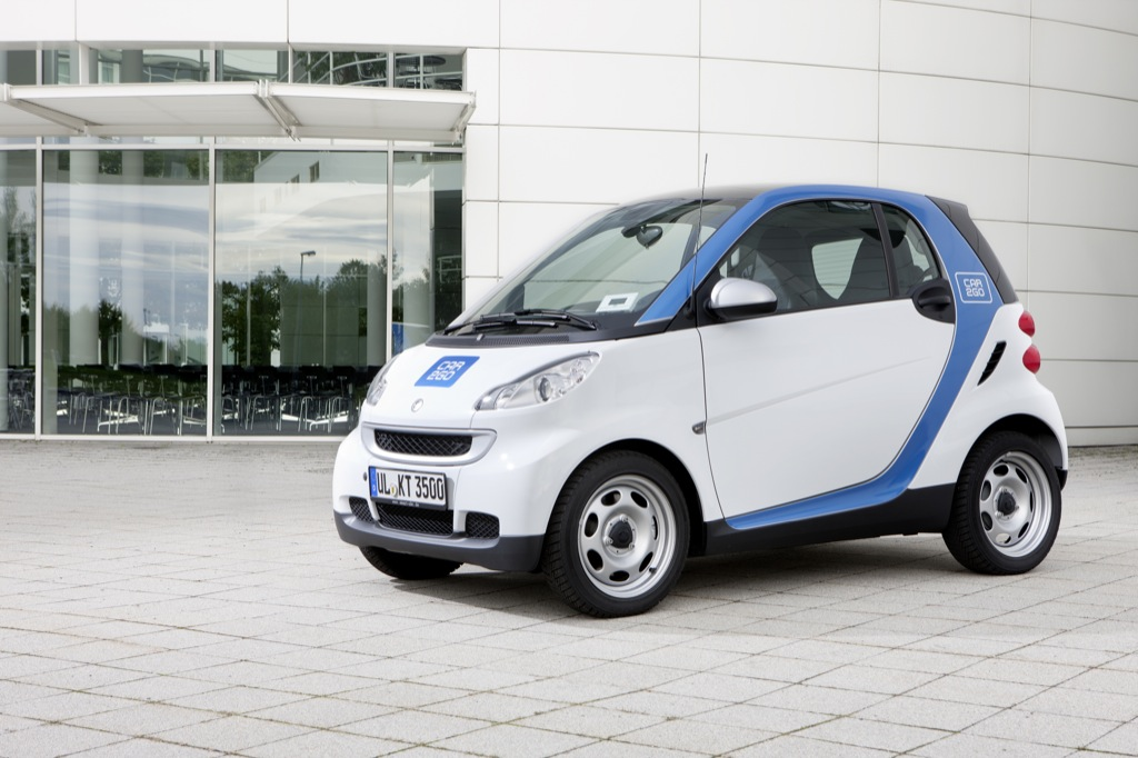 Smart Fortwo Car2go Edition Launched Autoevolution