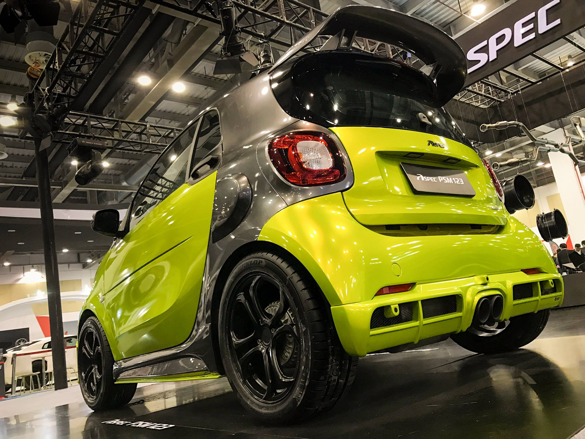 Smart Fortwo Tuned By Aspec Has Amg Like Grille And Active