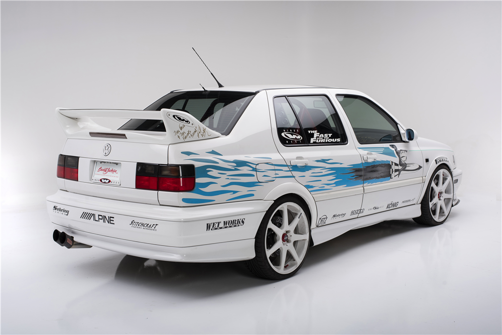 Someone Paid $42,000 for the VW Jetta from the First Fast&Furious - autoevolution