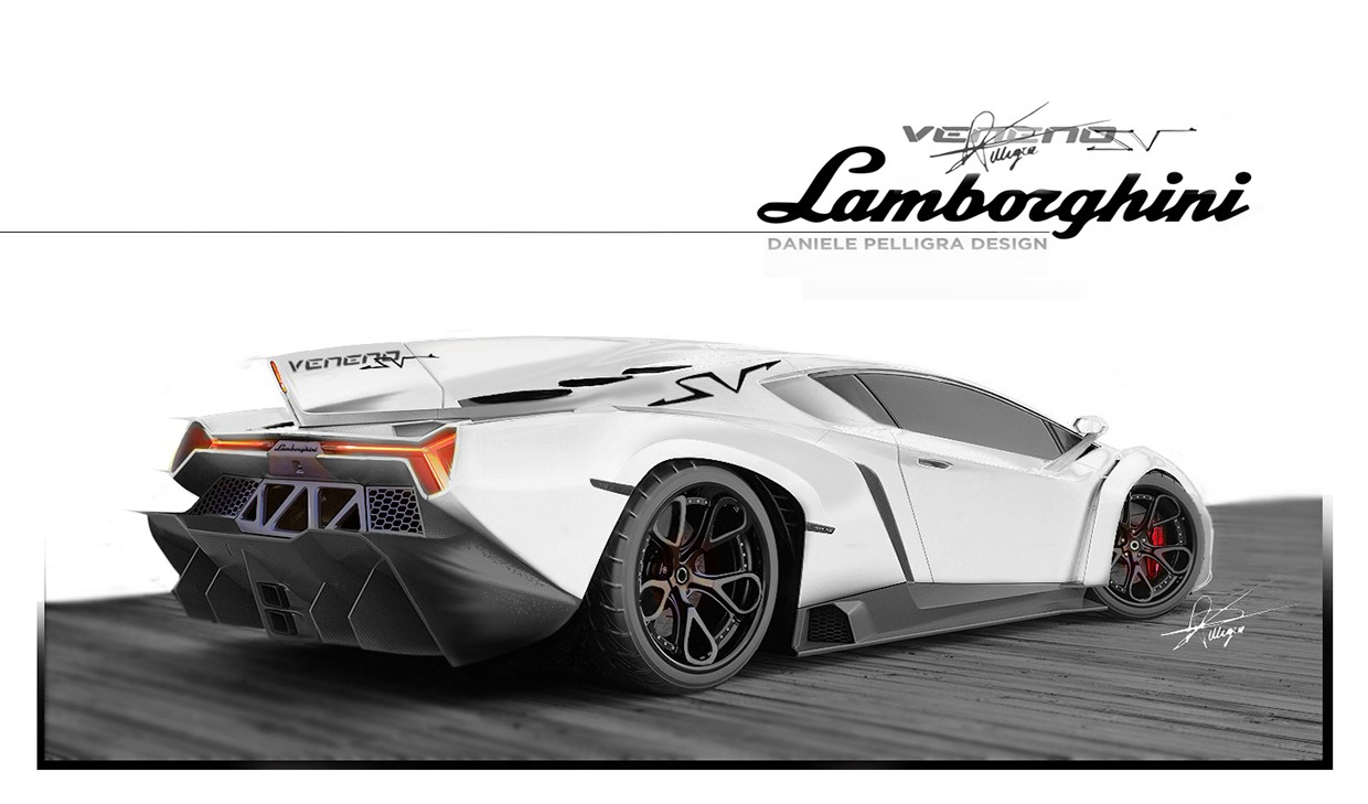 Someone Rendered A Lamborghini Veneno Superveloce We Think It S Amazing Autoevolution