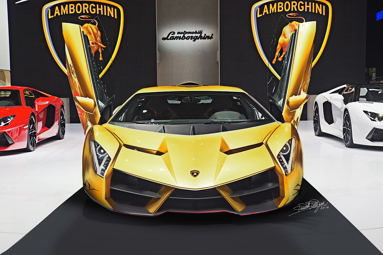 Someone Rendered A Lamborghini Veneno Superveloce We