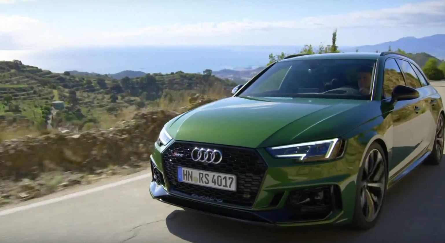 2018 audi rs4 avant is predictably fast autoevolution. Black Bedroom Furniture Sets. Home Design Ideas