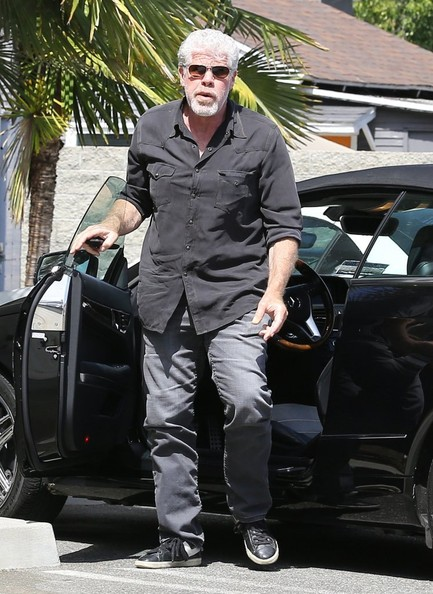 Best Year For Jeep Wrangler >> Sons of Anarchy's Ron Perlman Drives a Mercedes E350 ...