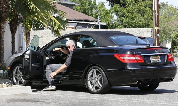 Sons Of Anarchy S Ron Perlman Drives A Mercedes E350