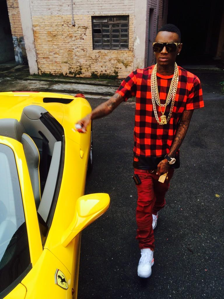 Soulja Boy Has Exotic Rides And Ladies In New Video Shooting on 2016 Alfa Romeo Spider