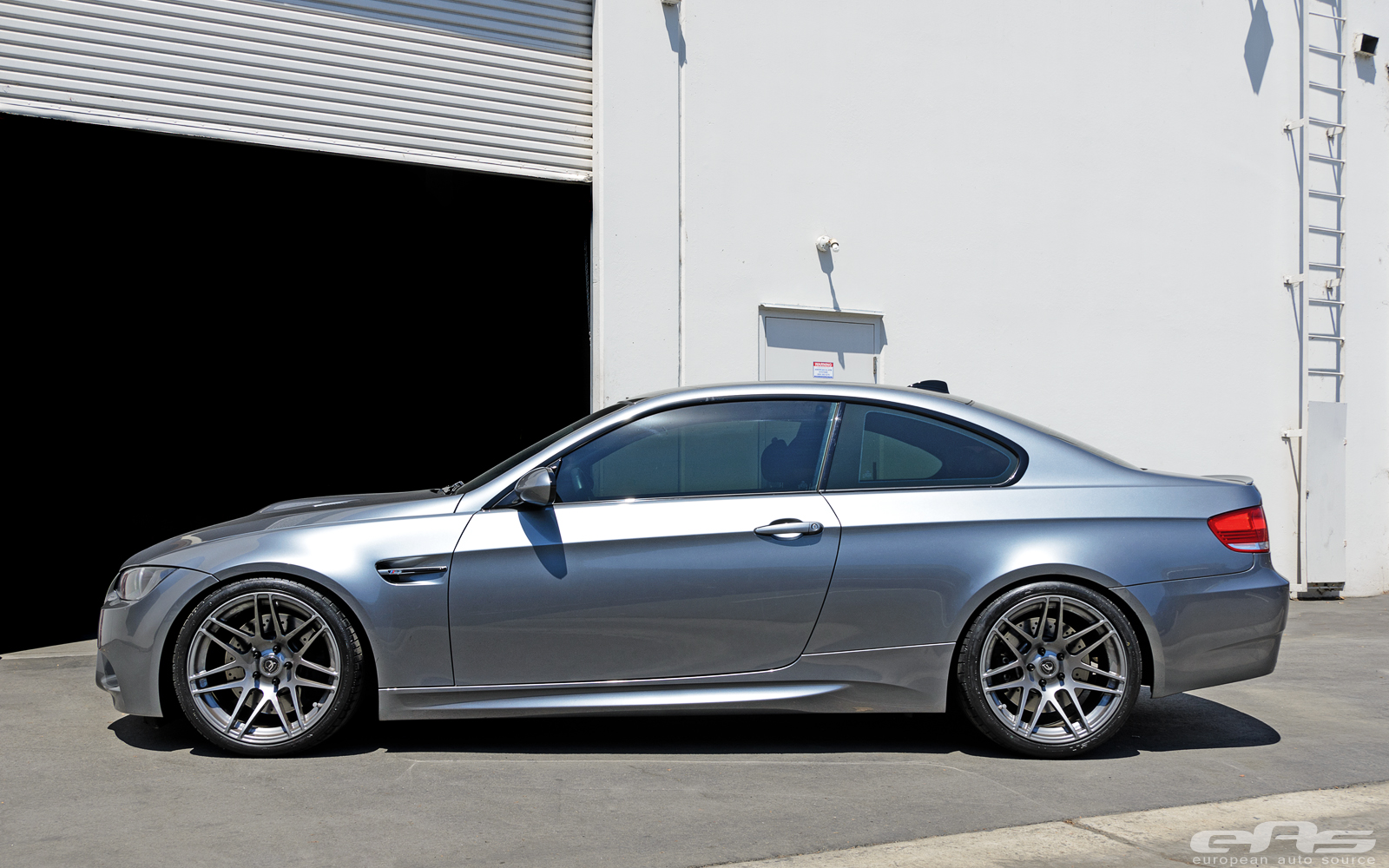 Space Gray Bmw M3 On Concave Wheels Is An Apparition