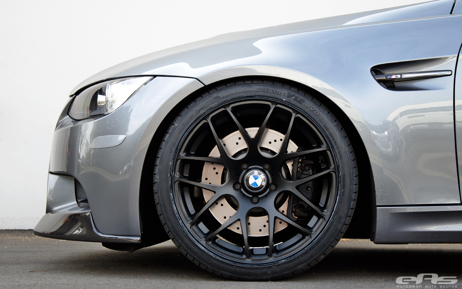 Space Gray M3 Gets Satin Black V710 Wheels At Eas