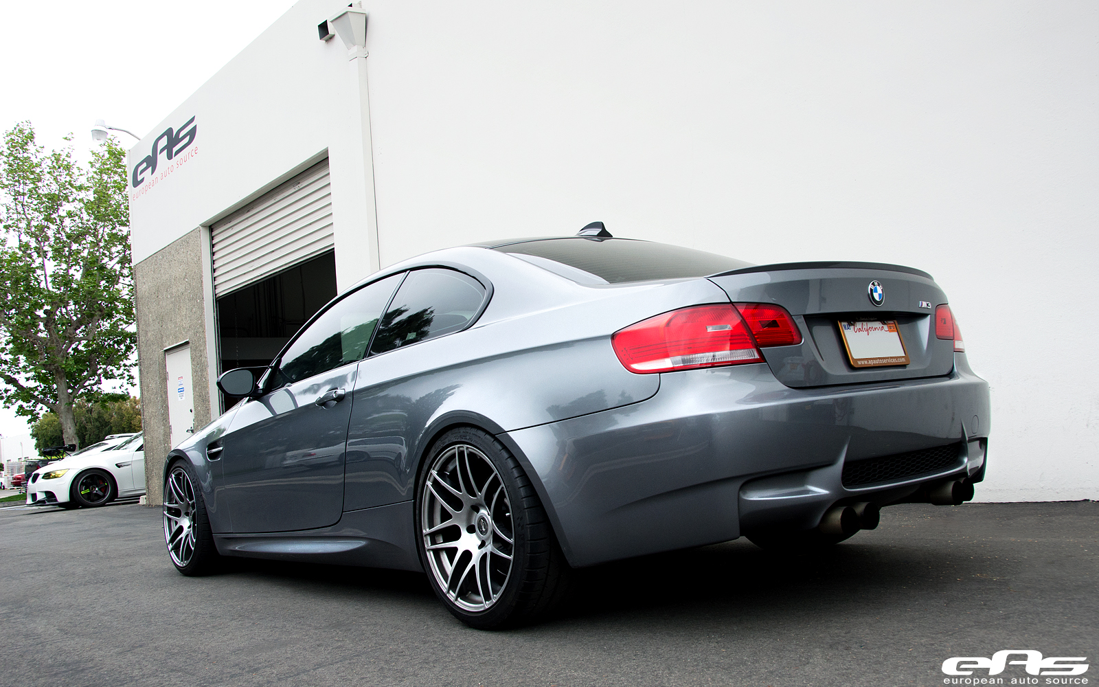 Space Grey Bmw E92 M3 Climbs On Kw Suspension At Eas
