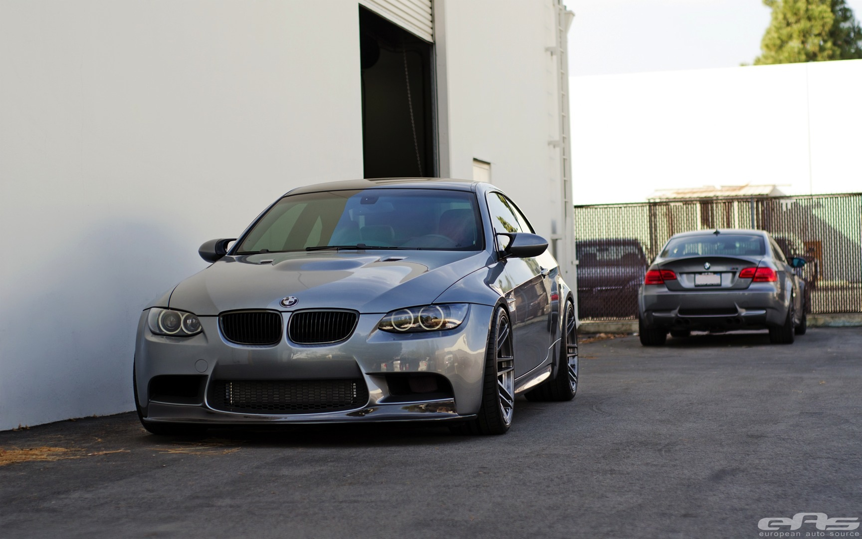 Space Grey Bmw E92 M3 Gets Supercharged And Neochrome Lug