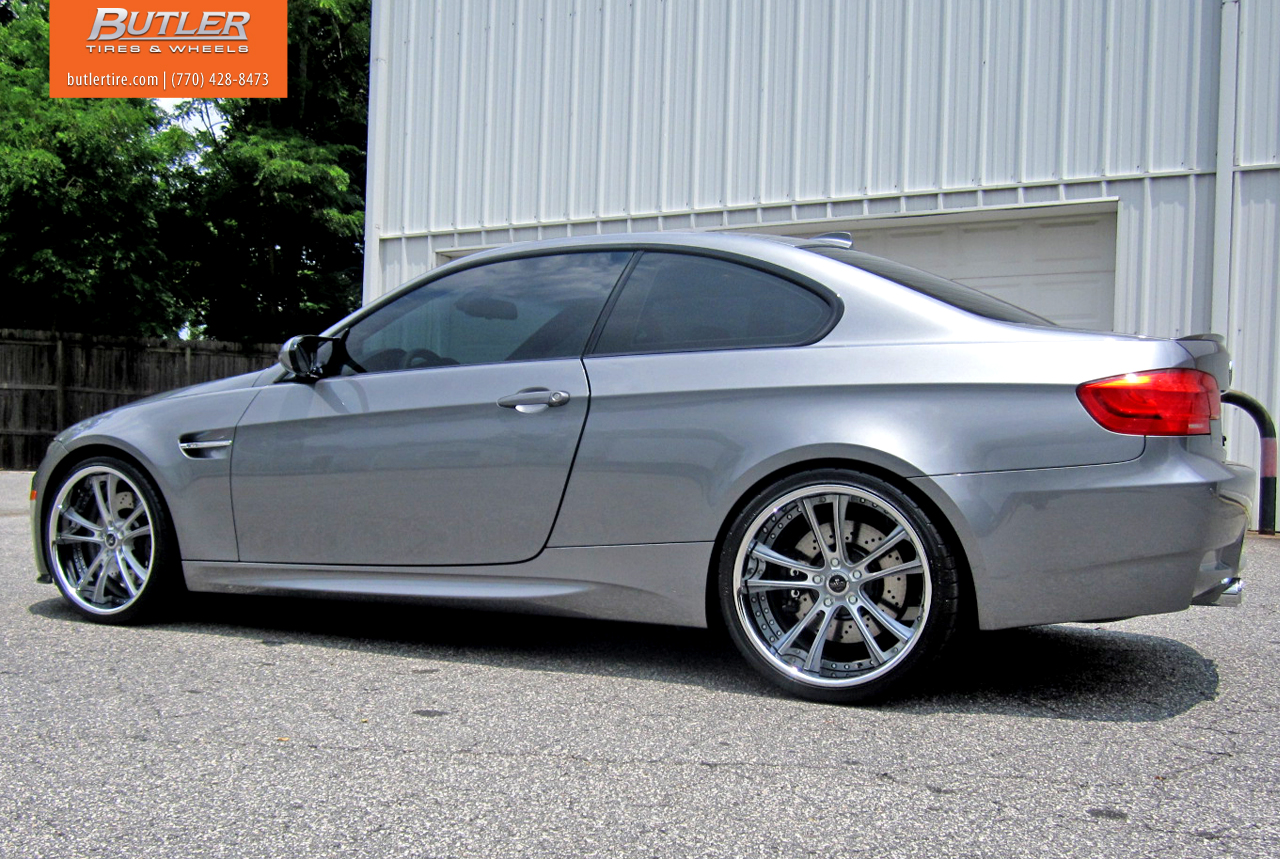 space grey bmw e92 m3 rides on brand new savini wheels autoevolution. Black Bedroom Furniture Sets. Home Design Ideas