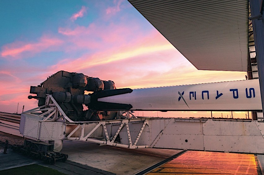 SpaceX Crew Dragon Cape Canaveral January 2019