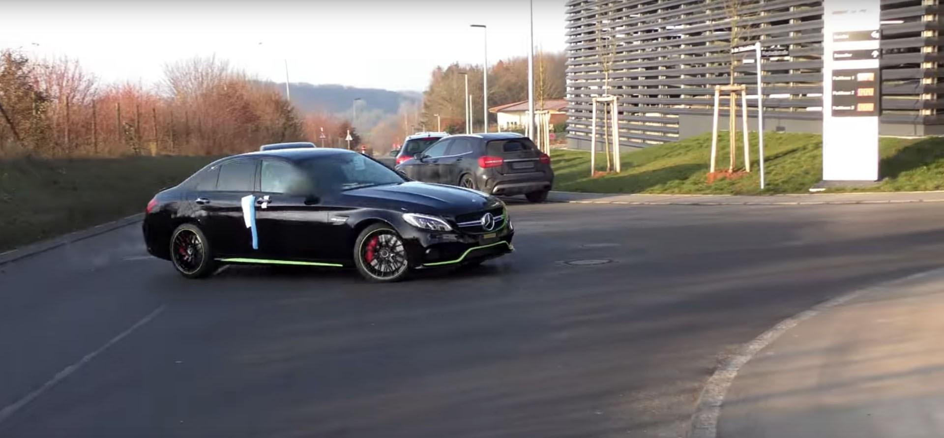 Mercedes-AMG C63 S Edition 1 RHD ...