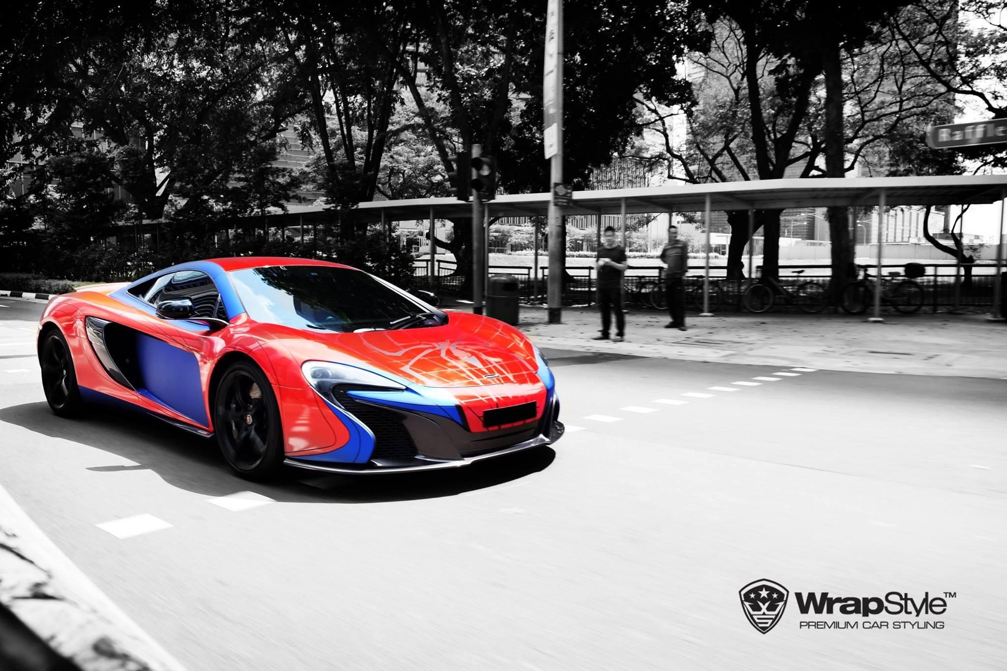 Vw Of America >> Spider-Man McLaren 650S and Superman Mercedes SLS AMG: Superhero Supercars - autoevolution