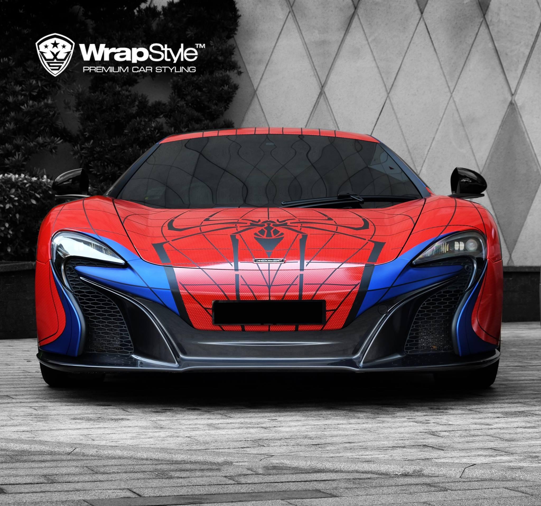 Spider-Man McLaren 650S and Superman Mercedes SLS AMG: Superhero Supercars - autoevolution