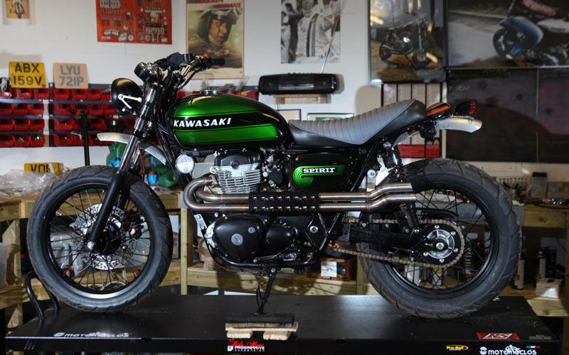 Spirit Of The Seventies Custom Kawasaki W800 Photo Galleries