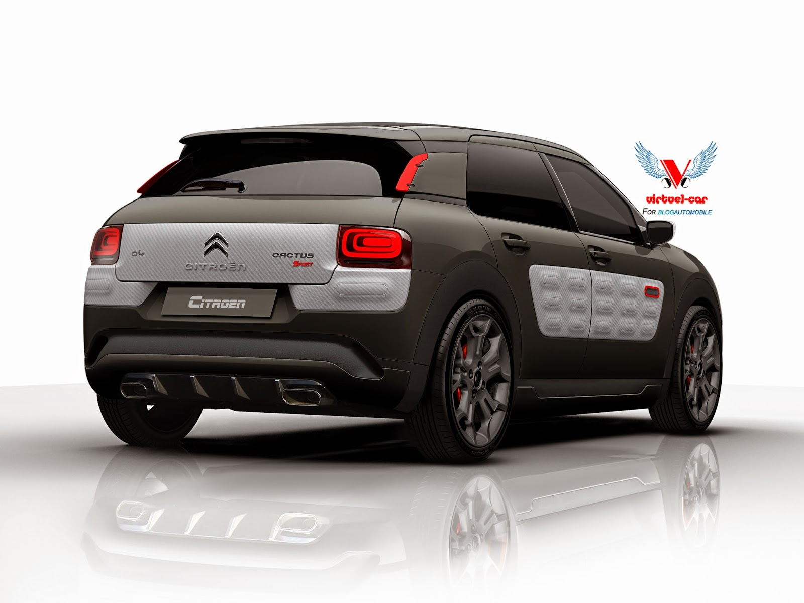 sport citroen cactus yes please autoevolution. Black Bedroom Furniture Sets. Home Design Ideas